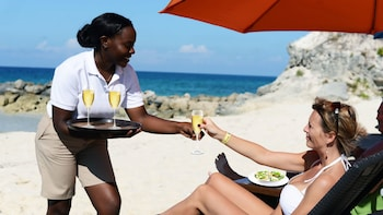 VIP Beach Experience on Blue Lagoon Island
