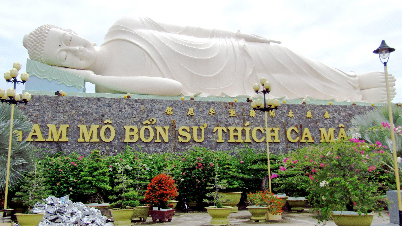 Giant statue in Vietnam