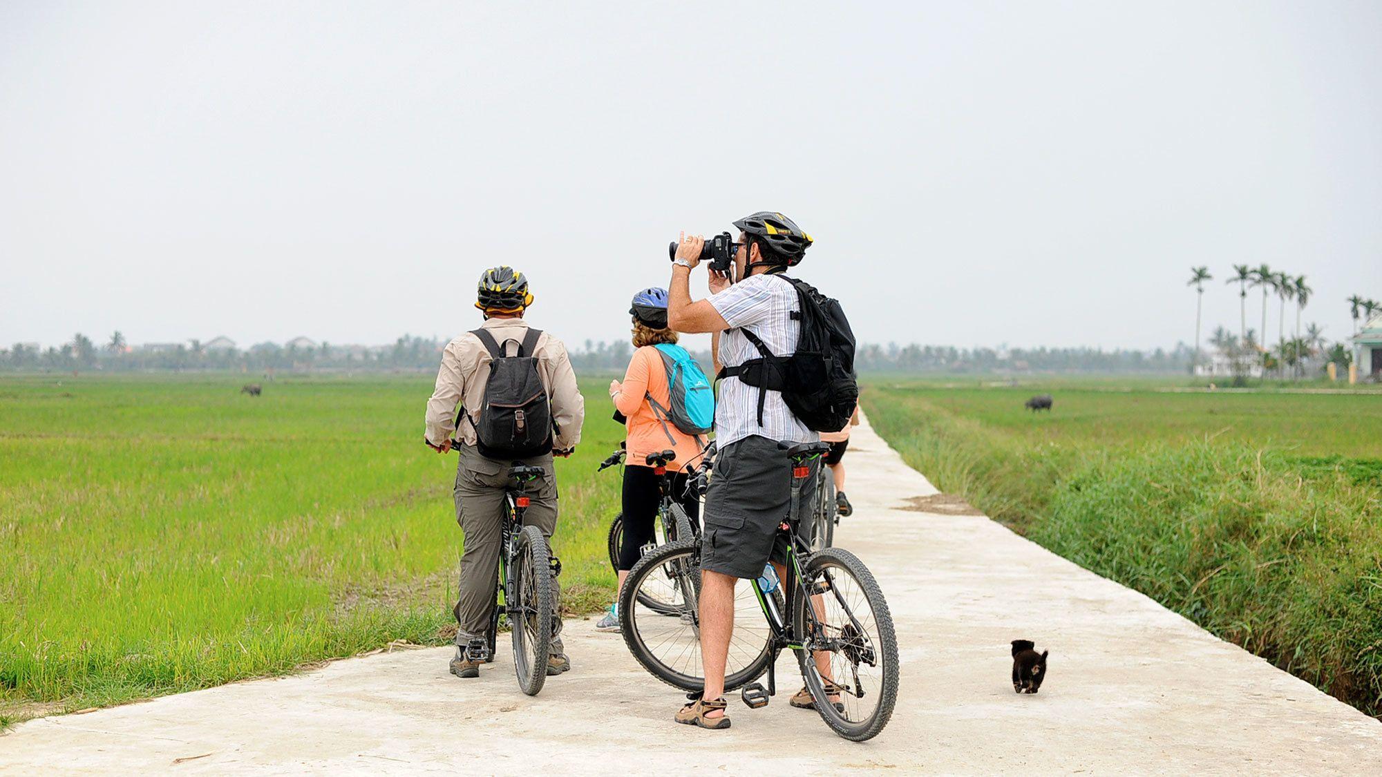 Countryside bike tour in Hoi An