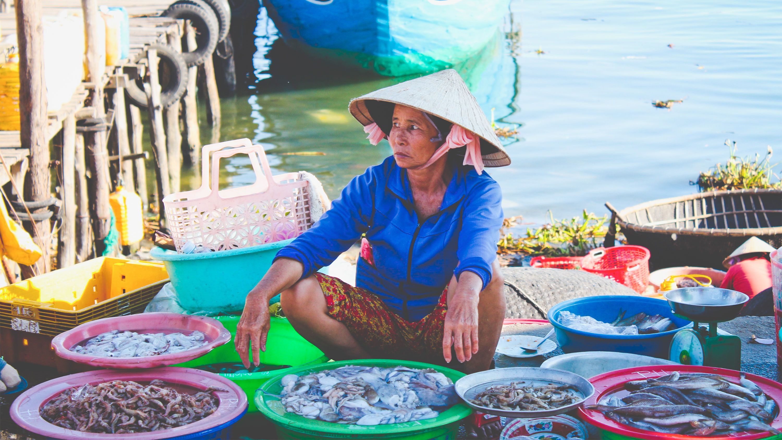 Market in the countryside of Hoi An