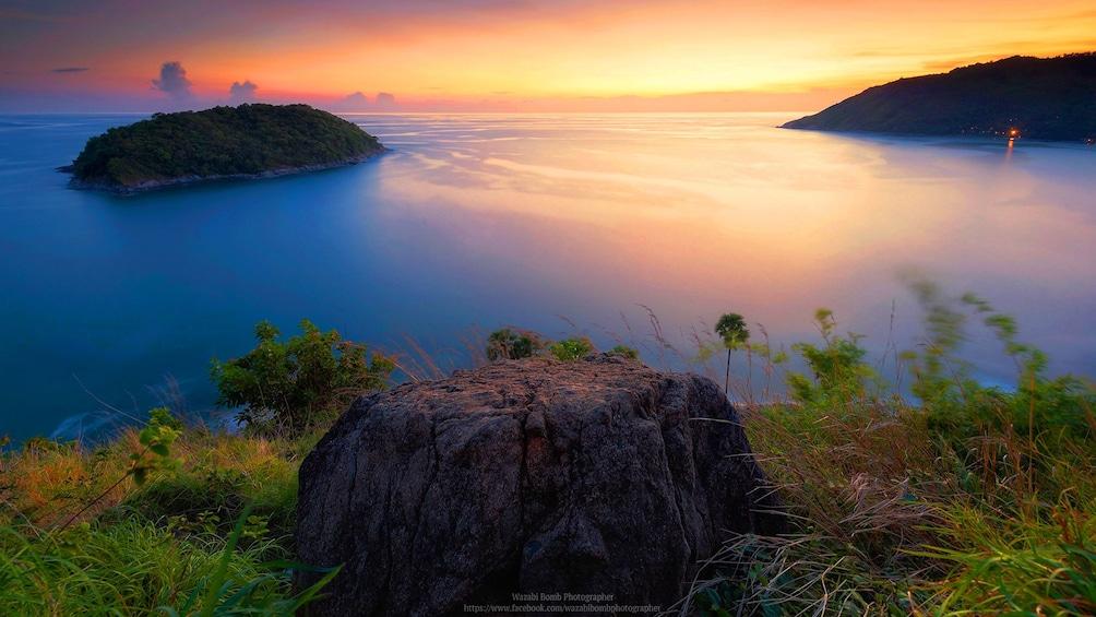 Sunset on the coast of Phuket