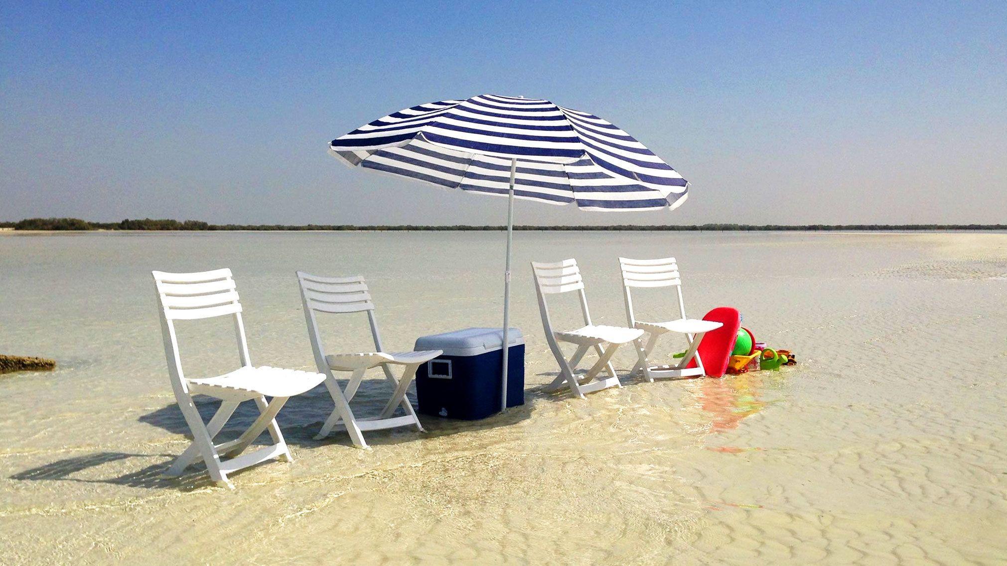 Abu Dhabi Island Beach Getaway