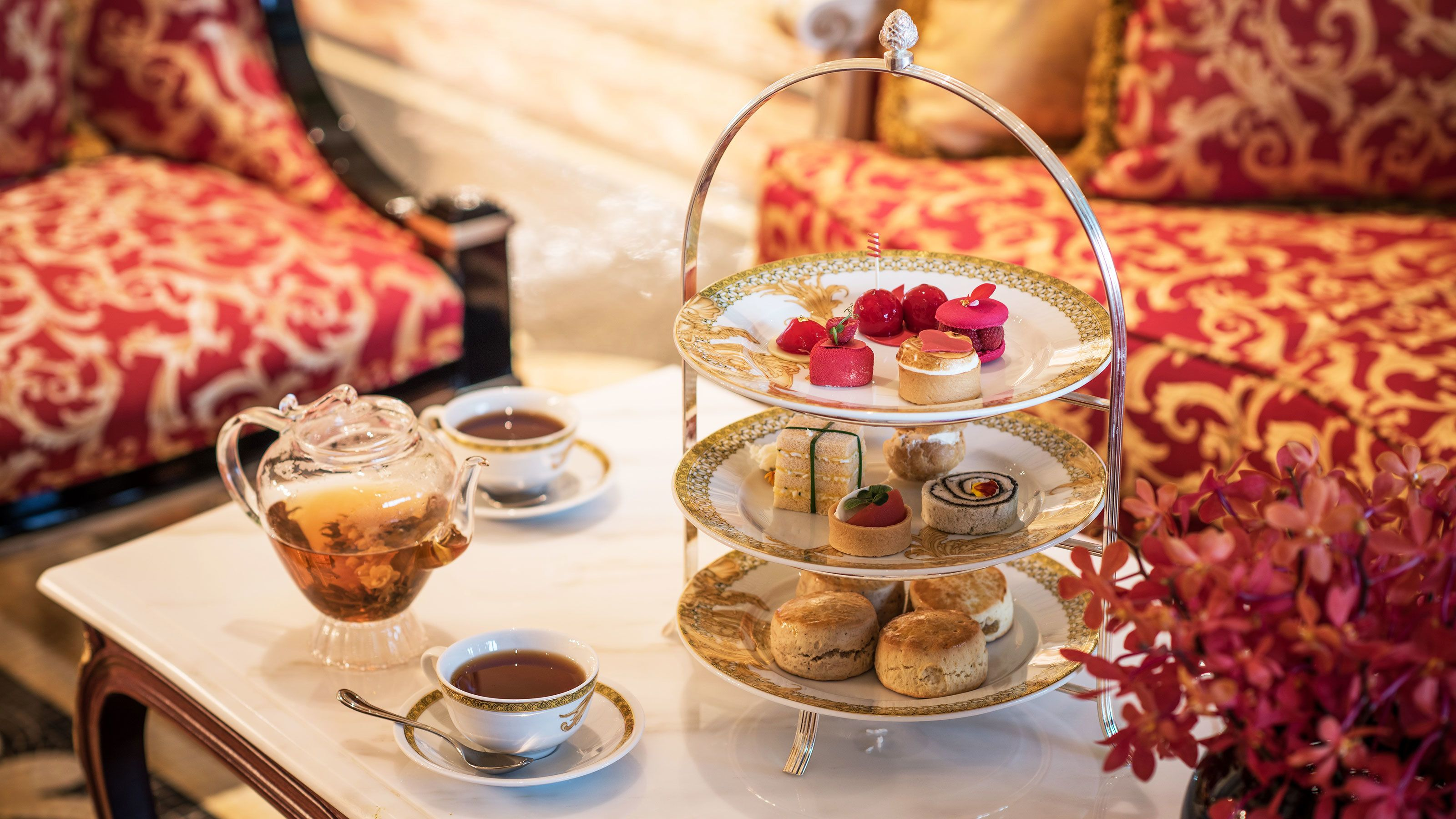Classic Afternoon Tea at Palazzo Versace