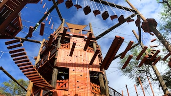 Adventure Tower – Obstacle Course, Freefall & Climbing Wall