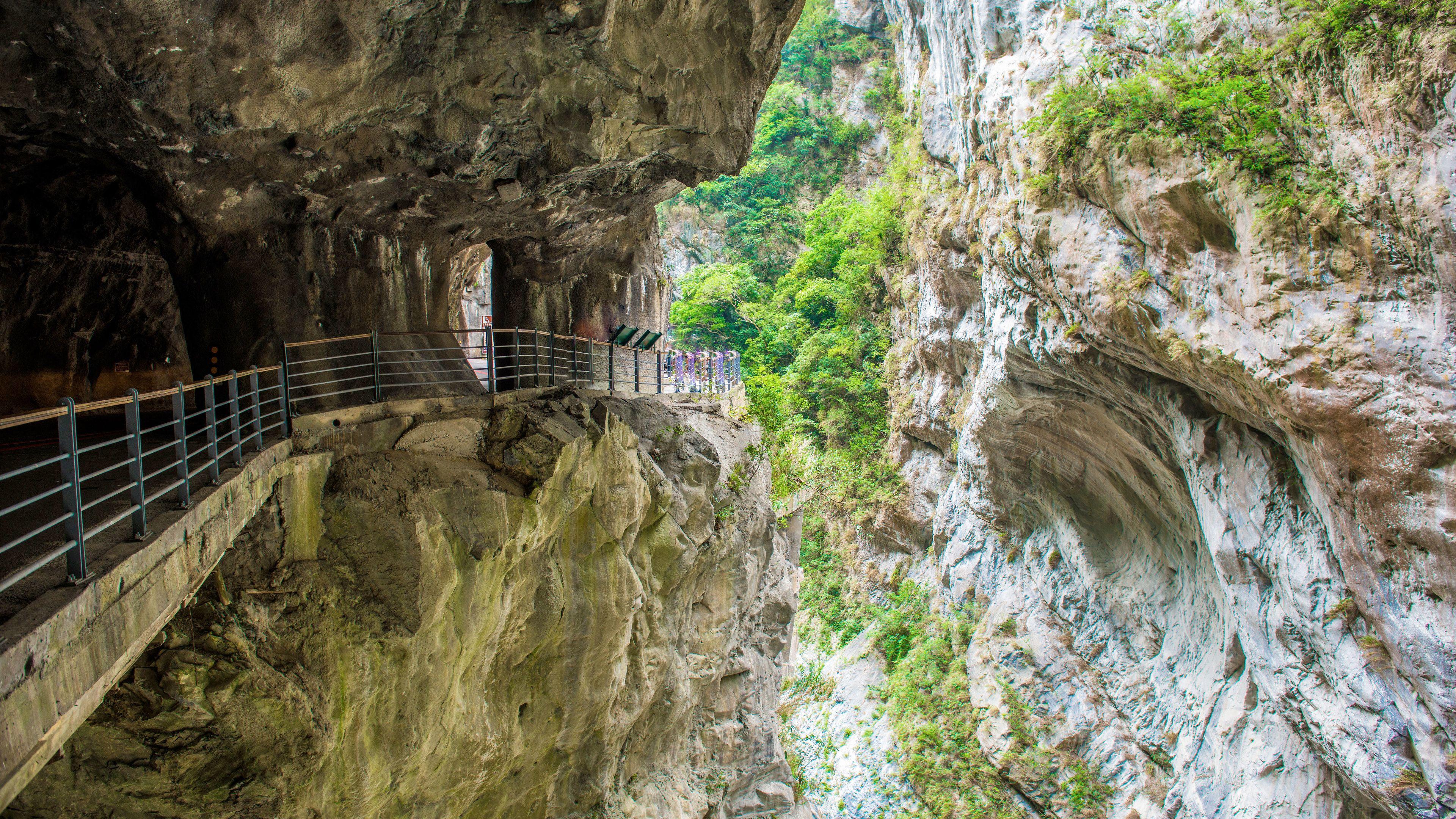 Views on the Taroko Gorge tour in Taiwan