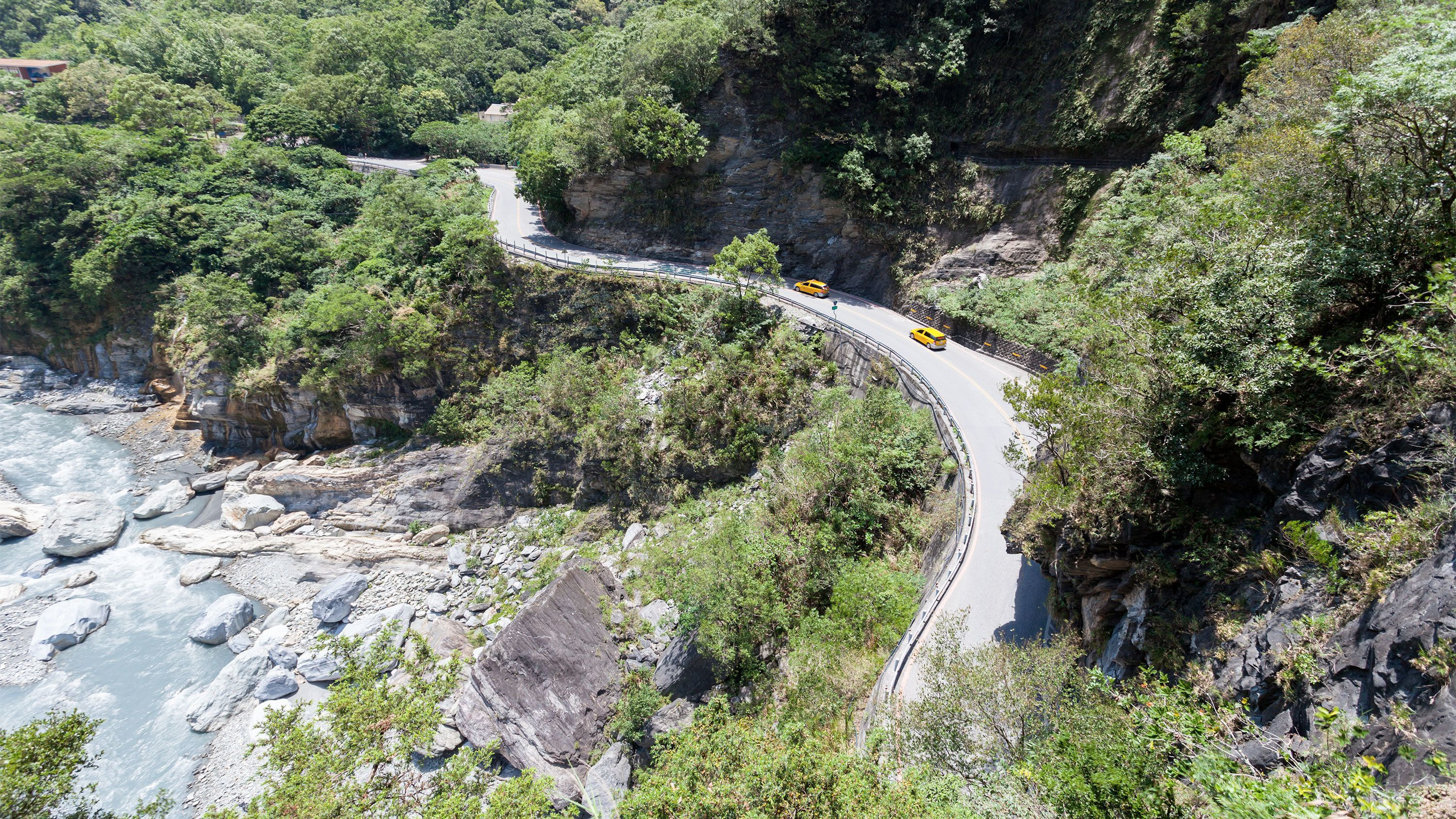 View of the Taroko Gorge Day Tour by Plane in Taiwan