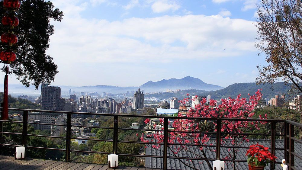 Beautiful day on the Taipei 101 with Lunch & Hot Spring tour in Taiwan