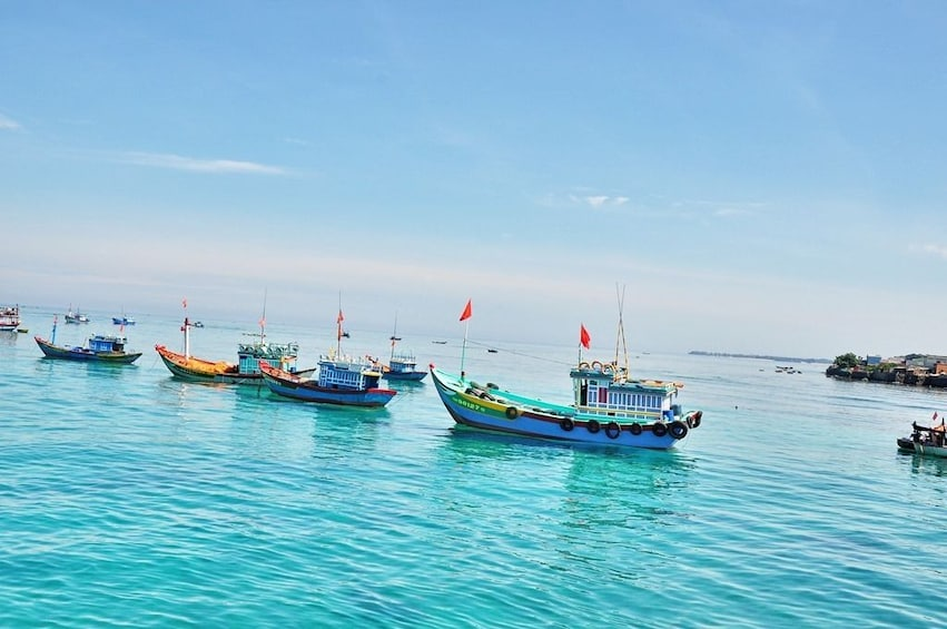Show item 8 of 8. Private Vung Tau Full-Day City Tour with Beach Relaxation
