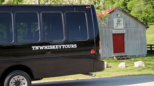 Tour van in Tennessee