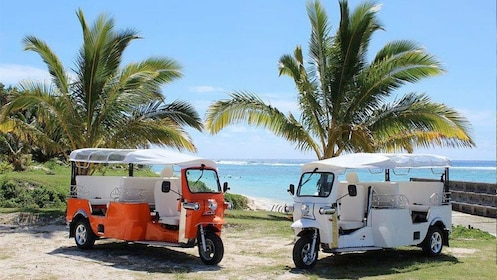 Cocktail Happy Hour Hop vehicles in Cook Islands