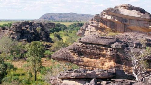 Scenic view of the Kakadu Rock