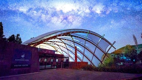 Entrance to Waitomo Glowworm Cave Tour in Rotorua