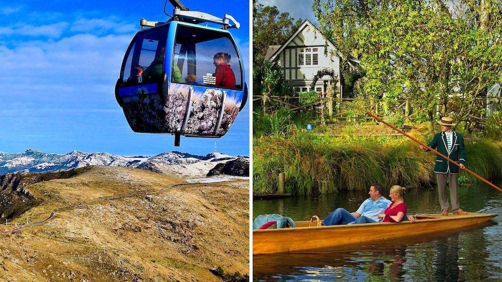 Show item 1 of 5. Combo image of two kinds of gondolas