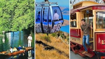 Combo: Avon Punting, Hop-On Hop-Off Tram & Gondola Ride