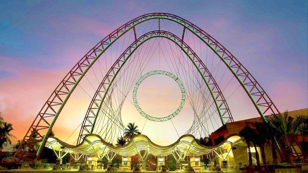Show item 3 of 5. Ancol Dreamland at night