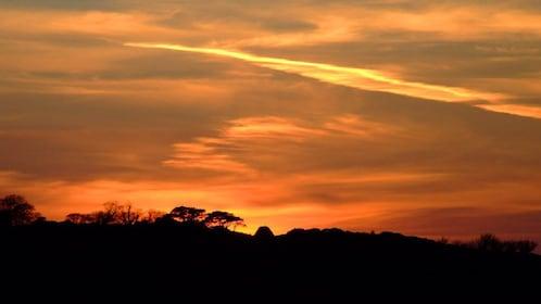 Beautiful sunset in York