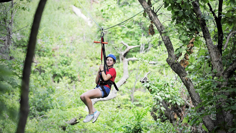 Kansas City ziplining tour
