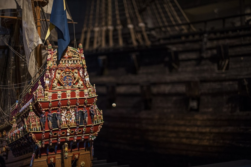 Show item 2 of 10. Stockholm's Old Town & Vasa Museum Private Walking Tour