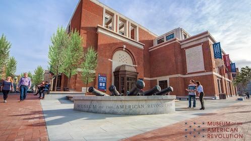 Exterior of the Museum of the American Revolution in Philadelphia