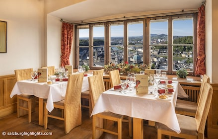 Mozart Concert with River Cruise & Dinner at Fortress Hohensalzburg