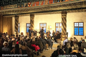 Mozart Concert & 3-Course Dinner at Fortress Hohensalzburg