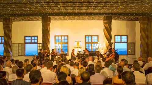 A stringed Octet plays Mozart in Salzburg