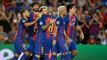 Kaartje voor een voetbalwedstrijd van FC Barcelona