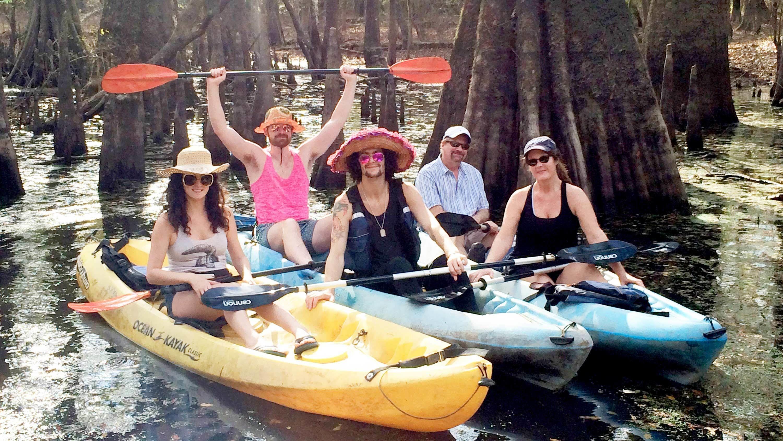 Manchacystic Kayak Tour