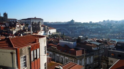 Overview of the city of Porto