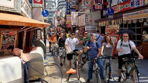 City view on the Full-Day Cycling Tour of Osaka