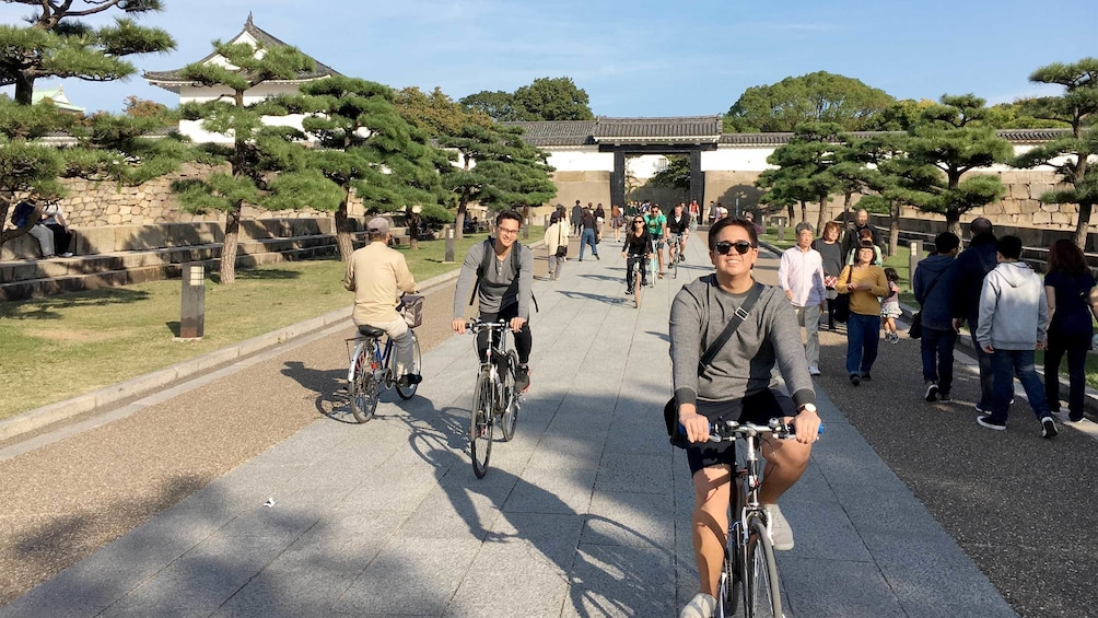正在顯示第 5 張相片,共 5 張。 Half-Day Cycling Tour of Osaka