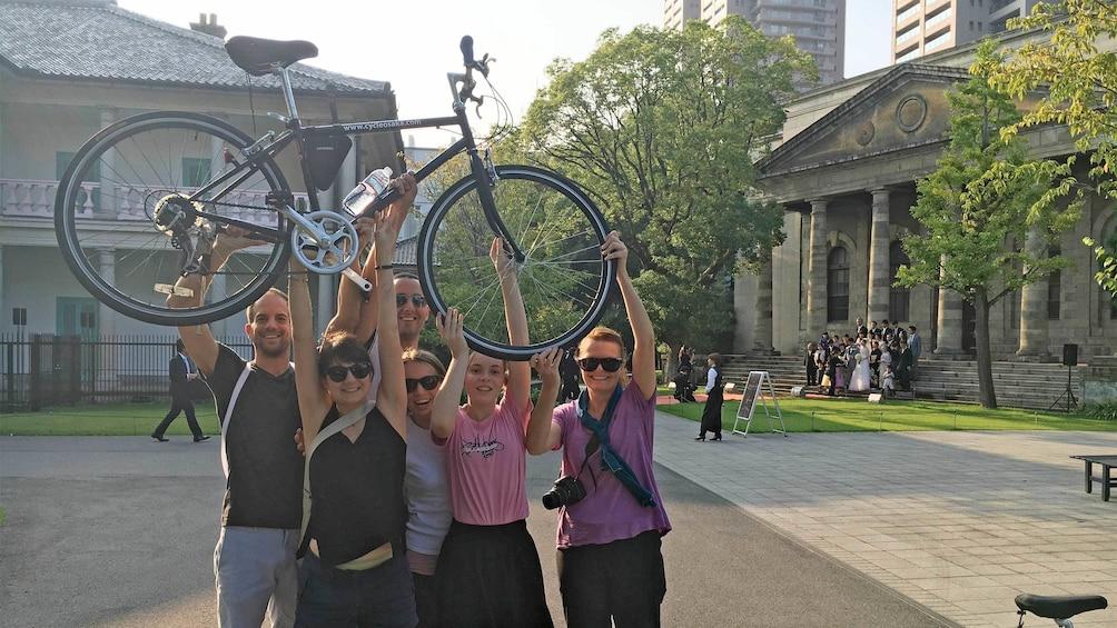 正在顯示第 4 張相片,共 5 張。 Cycling Tour of Osaka