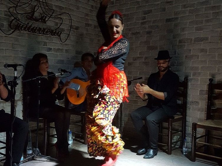 Show item 1 of 8. 3-Course Paella Lunch in Alicante harbour & Evening Flamenco Show