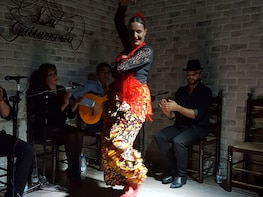 3-Course Paella Dinner & Flamenco Show in Alicante harbour