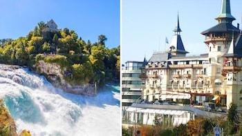 Rheinfall und Höhepunkte von Zürich