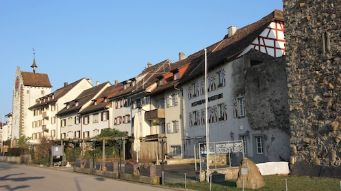 View of buildings in Stein am Rhein