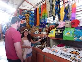 Visite du marché de Castries et des distilleries de Sainte-Lucie avec dégus...