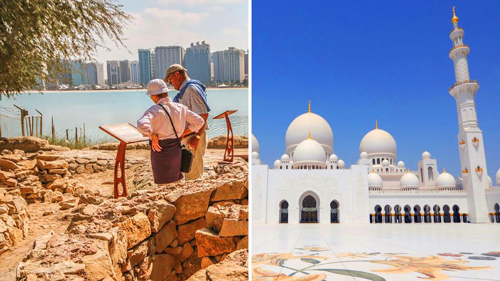 Combo Saver: Heritage Village, Grand Mosque & Desert Safari