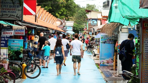 View of walking street in Koh Lipe Island