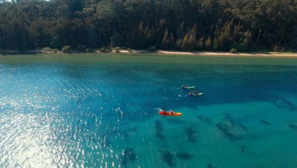Show item 1 of 7. Activity Batemans Bay Glass Bottom Kayak Tour