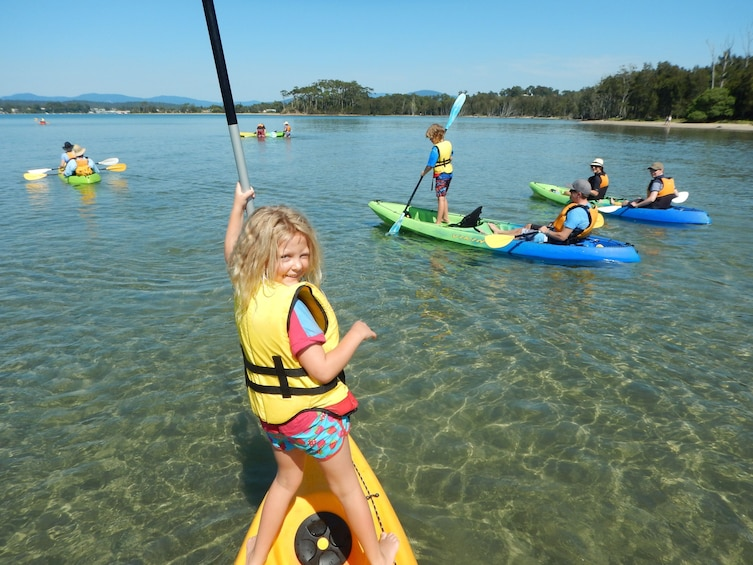 Show item 2 of 7. Activity Batemans Bay Glass Bottom Kayak Tour