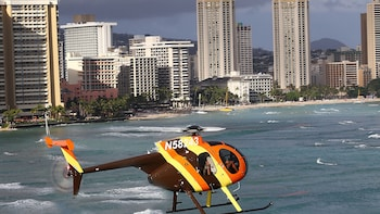 Private Doors-Off Magnum P.I. O'ahu Helicopter Adventure