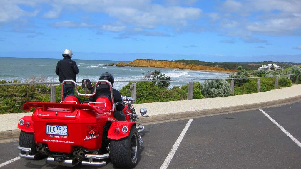 Full-Day Great Ocean Road Motorcycle Trike Tour for 2