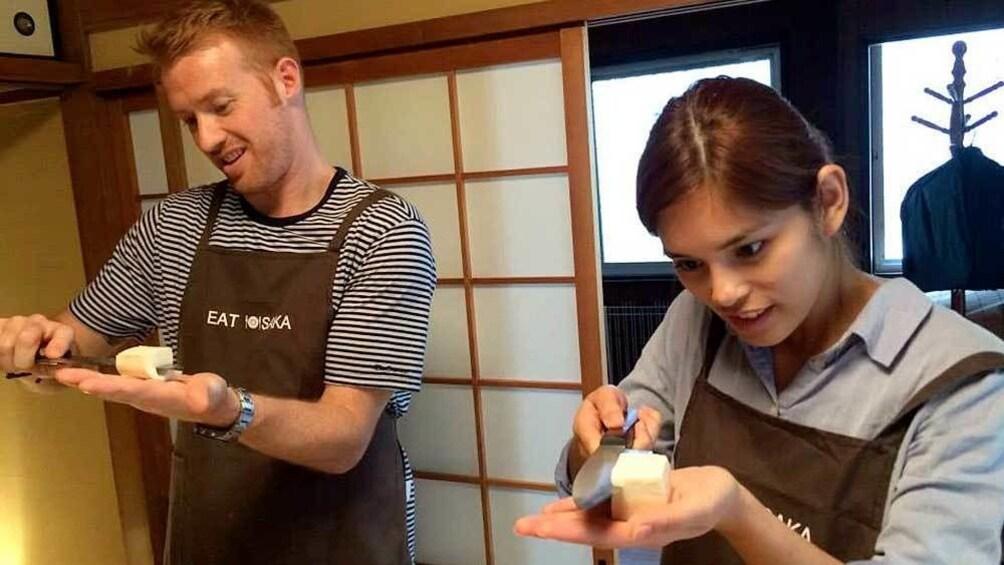 แสดงภาพที่ 5 จาก 5 Guests on the Home Cooking Class in Osaka