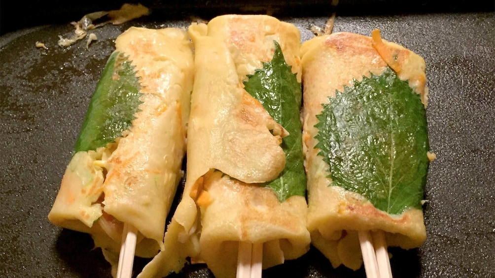 Show item 2 of 5. Street Food Cooking Class in Osaka