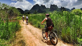 Full-Day Cycling & Bamboo Rafting Tour
