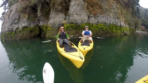 Kayakers in Oregon