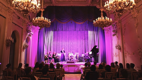Classical music concert in St Petersburg Palace