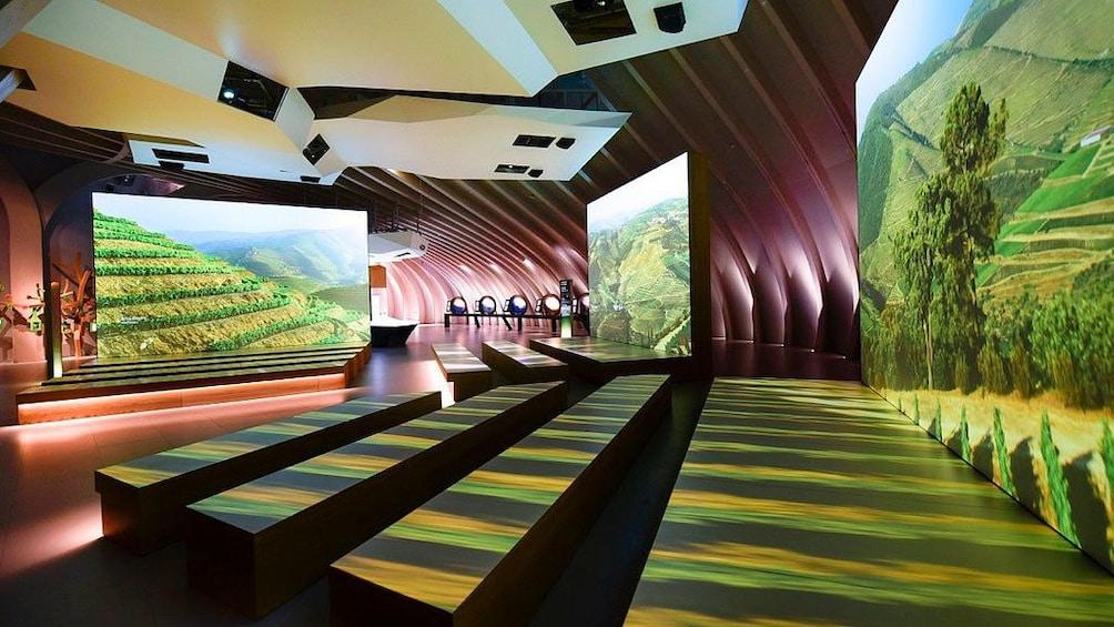 Show item 5 of 5. Theater inside of La Cité du Vin in Bordeaux