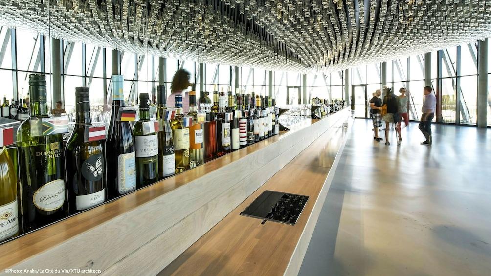 Show item 1 of 5. Wine bar in La Cité du Vin in Bordeaux